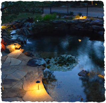 Lighting by James Landscaping