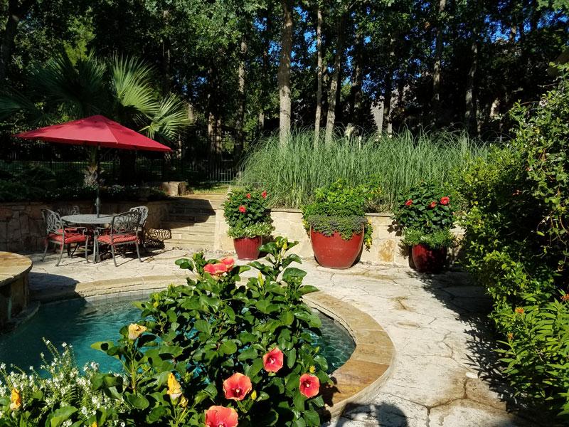 Hartzler Landscape and Design Pool Area